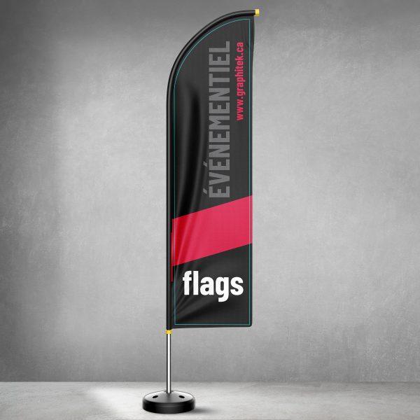 Beachflags et drapeaux