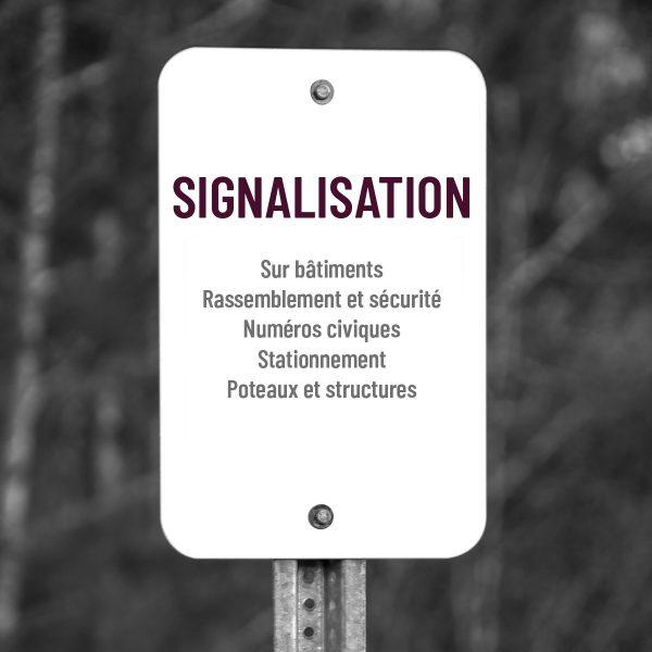 Signalisation permanente